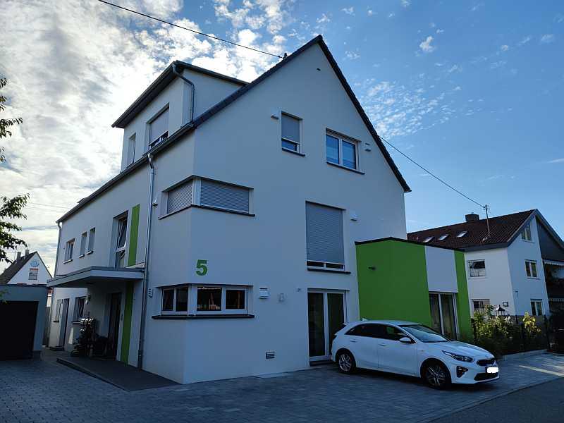 Fertiggestelltes Bauvorhaben Rottenburg