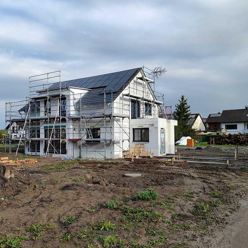 Aktuelles Bauprojekt Neustetten-Wolfenhausen