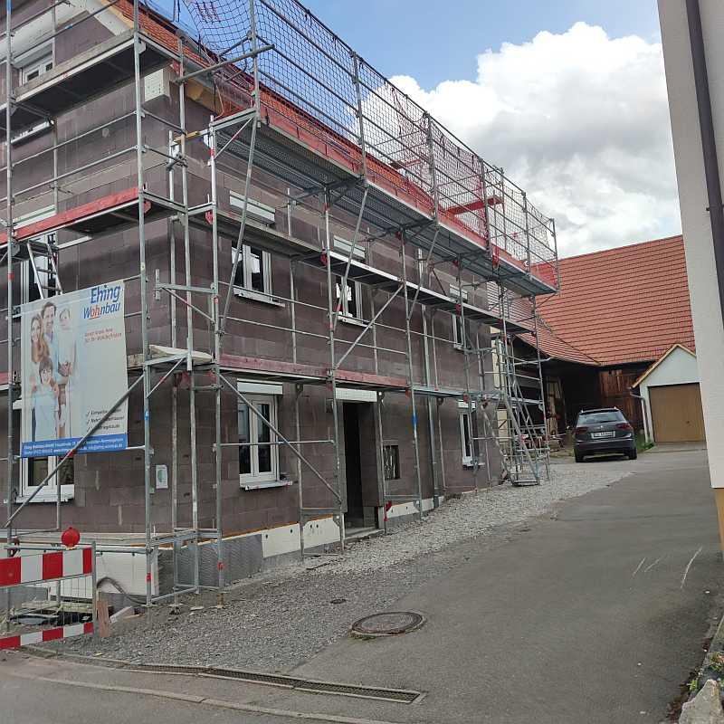 Aktuelles Bauprojekt Tübingen-Weilheim